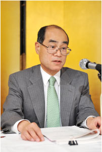 吉田新会長の就任挨拶