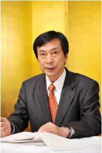 池田新副会長の就任挨拶