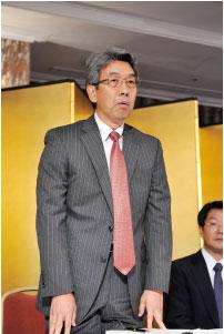 西澤新副会長の就任挨拶