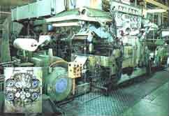 20段仕上げ圧延機